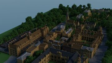 The Town of Gresham Minecraft Map & Project