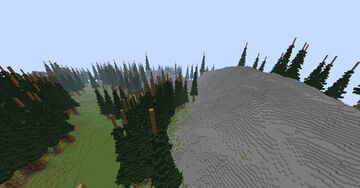rocky mountain Minecraft Map & Project