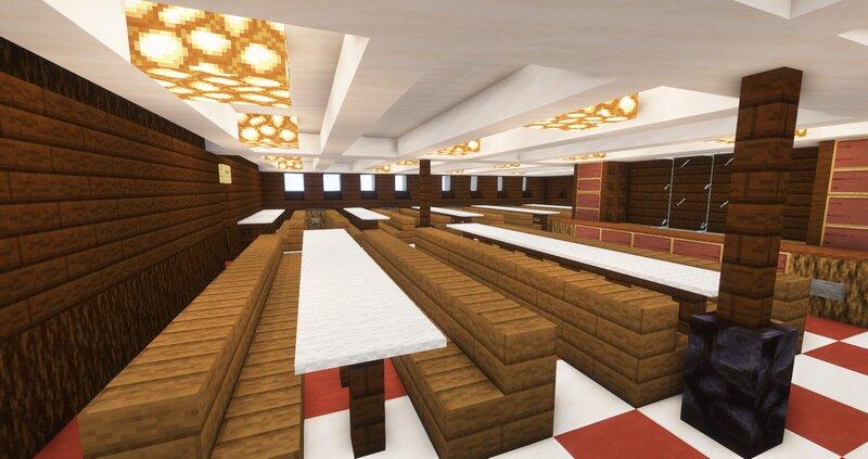 II. Class Diningsaloon