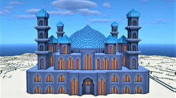 Iranian Mosque in Minecraft Minecraft Map & Project