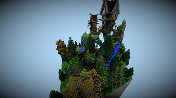 Floating Island SCHEM Minecraft Map & Project