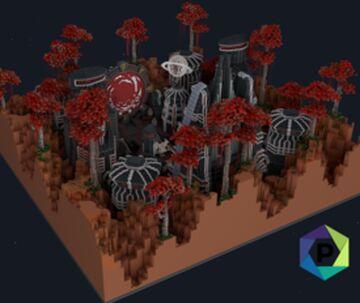 Alien Space Hub   1.8+ Minecraft Map & Project