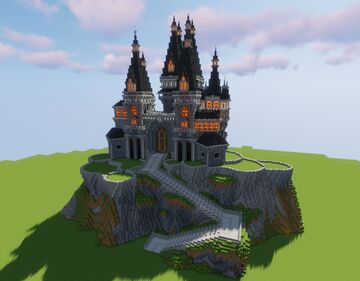 Redeye's Castle Minecraft Map & Project