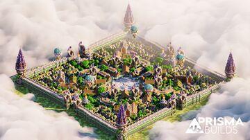 🏠 Survival Spawn [Medieval Theme] | PrismaBuilds 🏠 Minecraft Map & Project