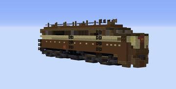 Pennsylvania railroad Alco PA1 Minecraft Map & Project