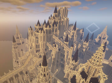 Recomposed Anor Londo (75%)(JAVA 1.16.5+) Minecraft Map & Project