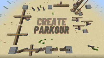 Short Create Parkour Minecraft Map & Project