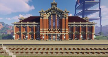 Taichung Railway Station Minecraft Map & Project
