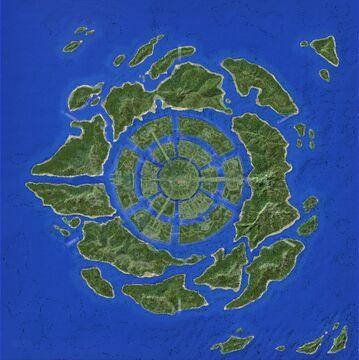 Atlantis 3k x 3k [Assassin's Creed Odyssey] Terrain Done! Minecraft Map & Project