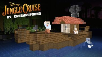 Jungle Cruise in Minecraft | Adventure Map 1 - 4 Player | Disney Movie | Coming Soon: Minecraft Map & Project