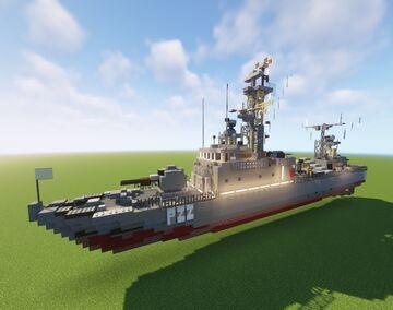 Laskos Class Missile Boat (La Combattante III) Minecraft Map & Project