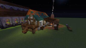 Spawn Blacksmith Minecraft Map & Project