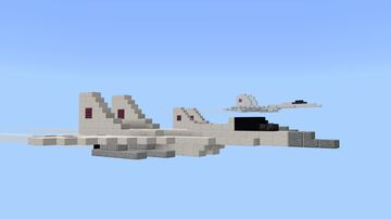 Mikoyan Mig-29 Minecraft Map & Project