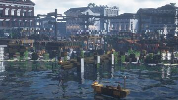 Panem Forever | District 4 Creation Minecraft Map & Project
