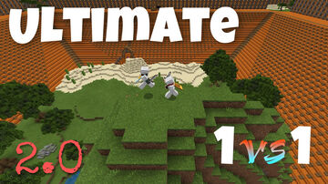 Ultimate 1v1 2.0 Minecraft Map & Project