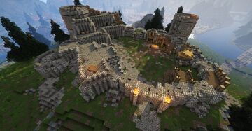 Fort Amol (Skyrim TES) Minecraft Map & Project
