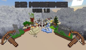 212 PvP Minigames [1.17+] Ver 1.5.2 Minecraft Map & Project