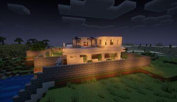 Casa lujosa Minecraft Map & Project