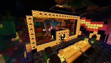 Casino Interiors Ideas - Darker Color Theme Palette Minecraft Map & Project