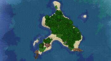Mystery Island Minecraft Map & Project