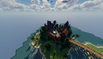 🧙♂️ Fantasy spawn 🧙♂️ Minecraft Map & Project