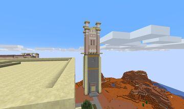 0AD Kushite (Nubian) Guard Tower Minecraft Map & Project