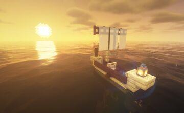 Fishing Village Island - Built on play.wildcraftmc.com Minecraft Map & Project