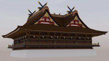 Kibitsu Shrine - 吉備津神社 Minecraft Map & Project