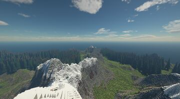 1000x1000 Custom Mountain Map Minecraft Map & Project