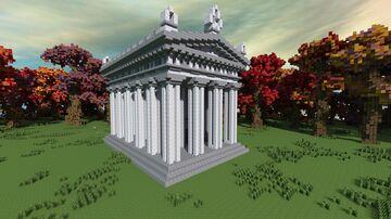 Greek Doric Temple +tutorial Minecraft Map & Project