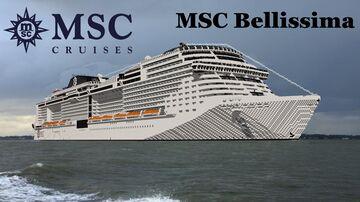 MSC Bellissima (Full Interior)+ Download Full replica Minecraft Map & Project
