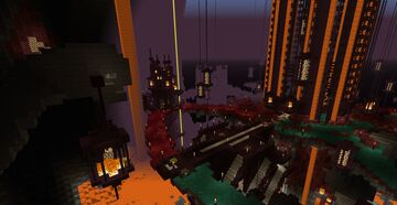 Hell Fortress Minecraft PvP Map [1.16.5] Minecraft Map & Project