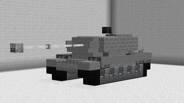 1:1 M103 American Heavy Tank Minecraft Map & Project