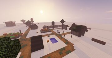 Map PvP Spleef Minecraft Map & Project