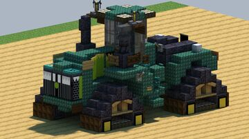 John Deere 9620 RX, Tractor [With Download] Minecraft Map & Project