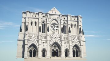 Cathedral Church of St. John the Divine Minecraft Map & Project