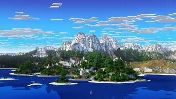 🌟Ewarkor - Between 1.18 Caves and Alpine Mountains (Download, 4k, 1.17+,Java & Bedrock, Multibiome Minecraft Survival World) - Next Gen Beginning Minecraft Map & Project