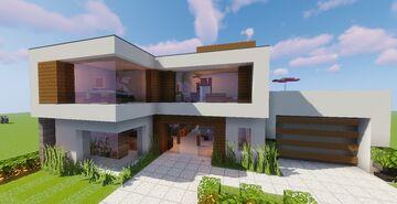 Modern House #131 (Map + Schematics) Minecraft Map & Project