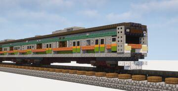 1.5:1 Scale E233-3000 Commuter Train Minecraft Map & Project