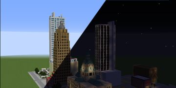 Fort Wayne Indiana (75% Scale) Minecraft Map & Project