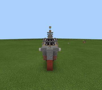uss guam cb-2 (1.5 scale) (my design) Minecraft Map & Project