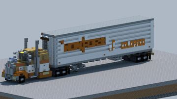 """Kenworth w900a """"Monfort Of Colorado"""" [With Download] Minecraft Map & Project"""