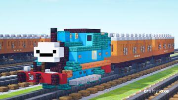 Thomas the Tank Engine 1.5:1 Minecraft Map & Project