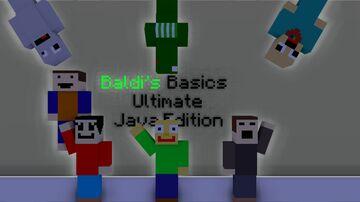 Baldi's Basics Ultimate Java Edition Minecraft Map & Project