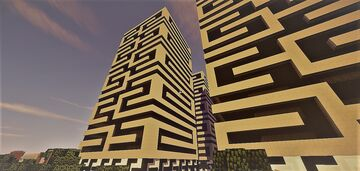 French condo towers Minecraft Map & Project