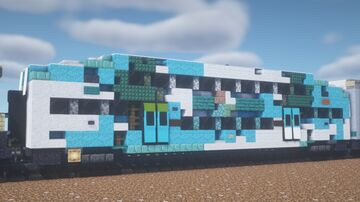 Tri-Rail - Bombardier Bi-Level Car Minecraft Map & Project