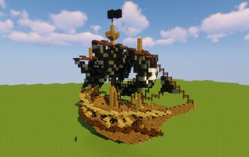 Pirate Ship 3 Minecraft Map & Project