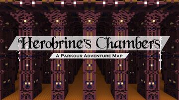 Herobrine's Chambers - Parkour Adventure Map Minecraft Map & Project