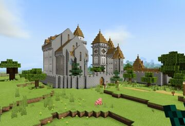 The Rock Castle Minecraft Map & Project