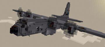 Lockheed Martin C130H Minecraft Map & Project